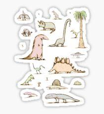 Dinosaurs Sticker