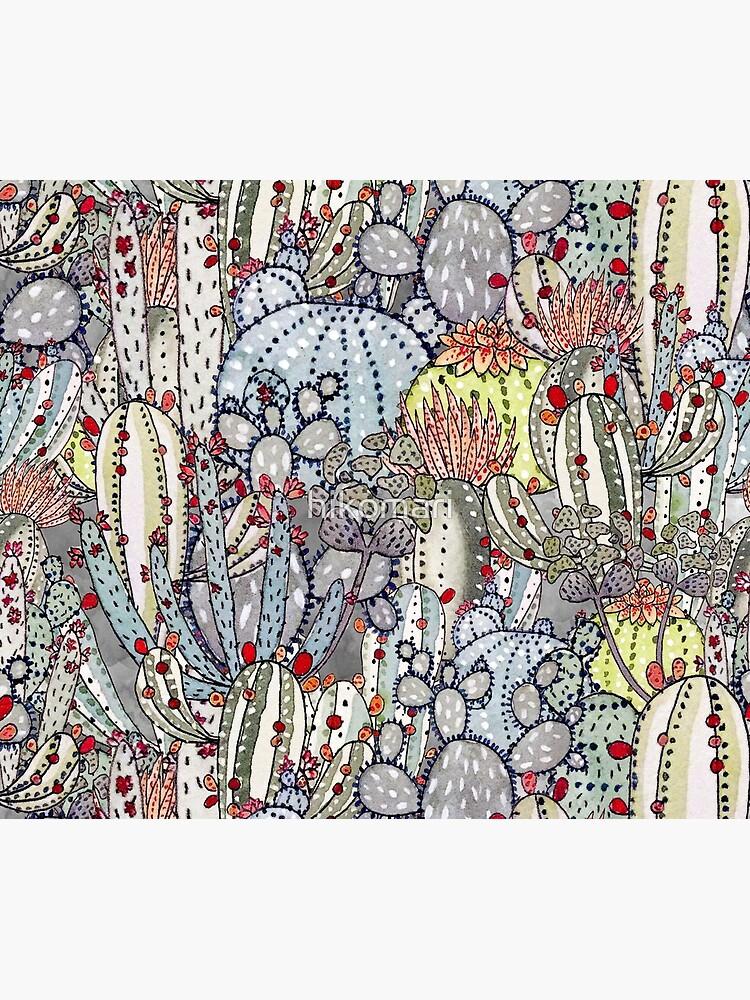 Cactus Oasis by hikomari