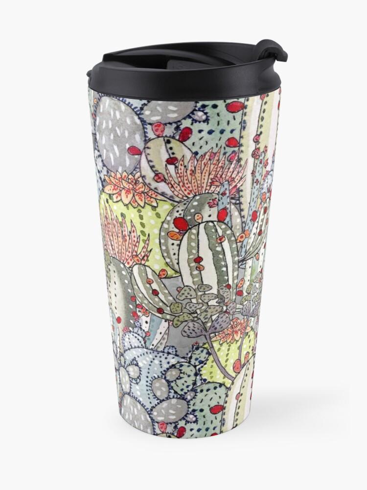 Alternate view of Cactus Oasis Travel Mug