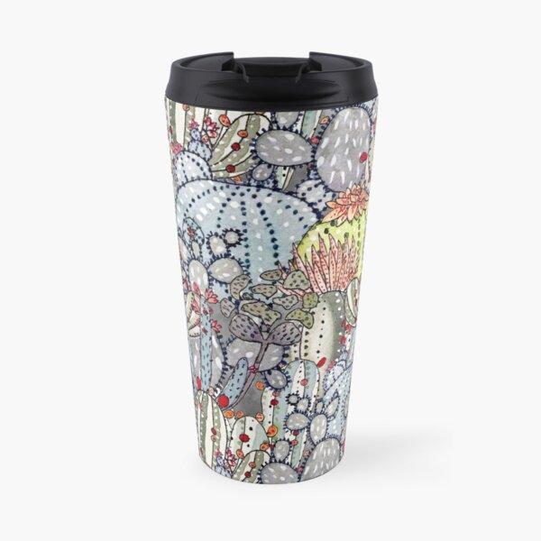 Cactus Oasis Travel Mug
