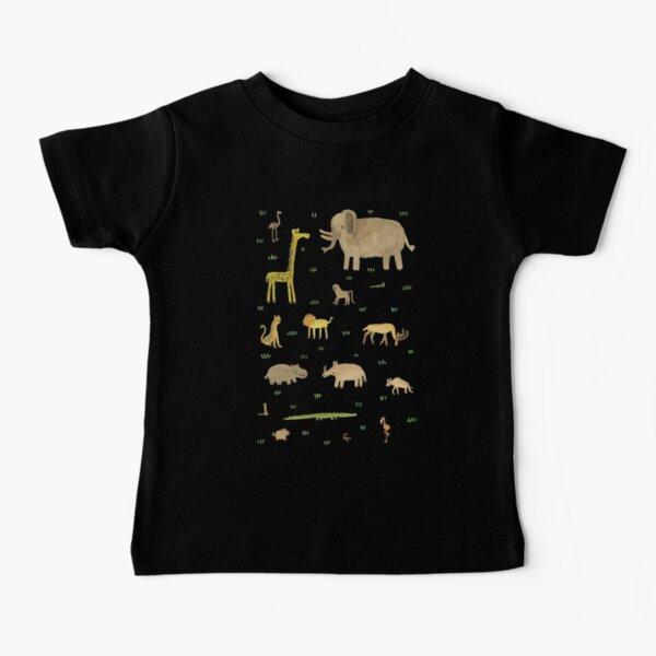 African Animals Baby T-Shirt