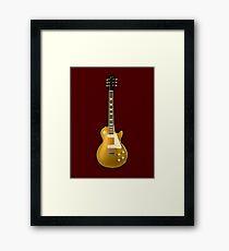 Gibson Les Paul Goldtop Framed Print