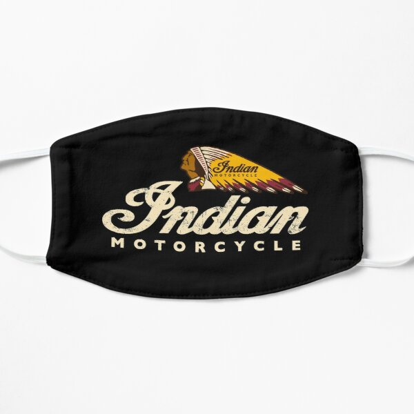 Indian motorcycle vintage logo design 1901 usa Mask
