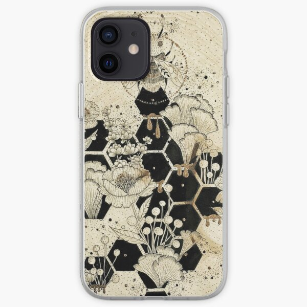 Space Bee iPhone Soft Case