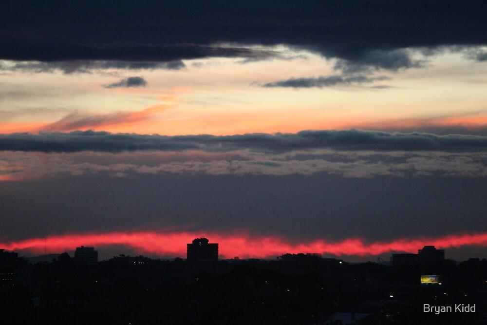 Torn Sunset by Bryan Kidd