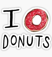 I ❤ Donuts Sticker