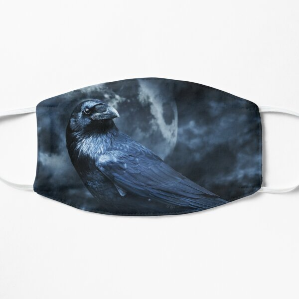 Odins Raven Basking in Moonlight Mask