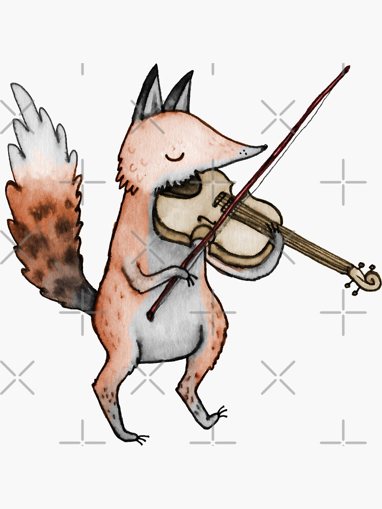Violin Fox by SophieCorrigan