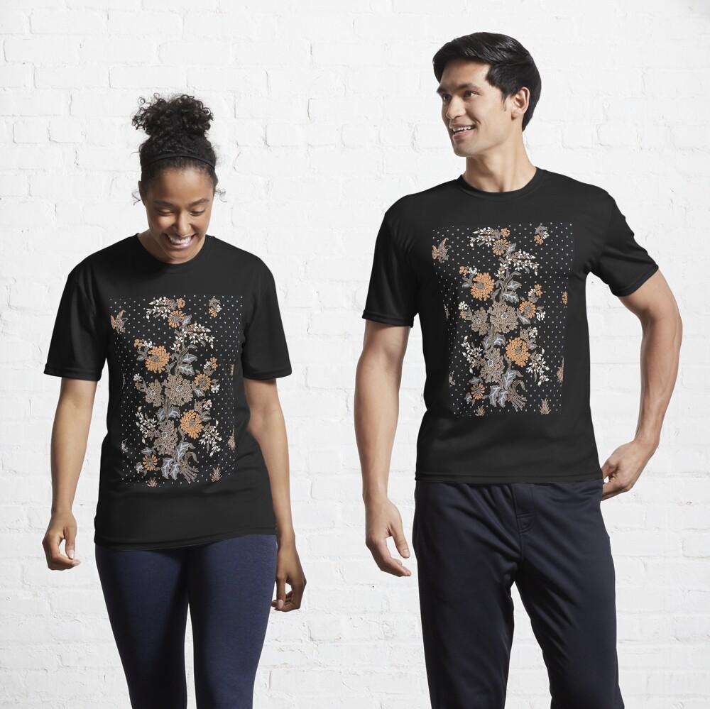 Indonesian Batik Sarong Active T-Shirt