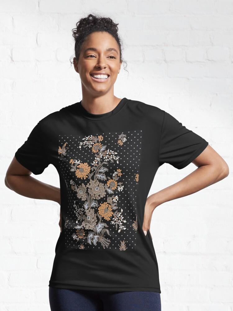 Alternate view of Indonesian Batik Sarong Active T-Shirt