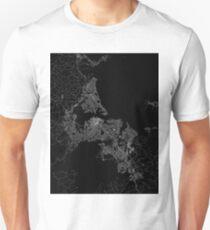 Auckland map New Zeland T-Shirt