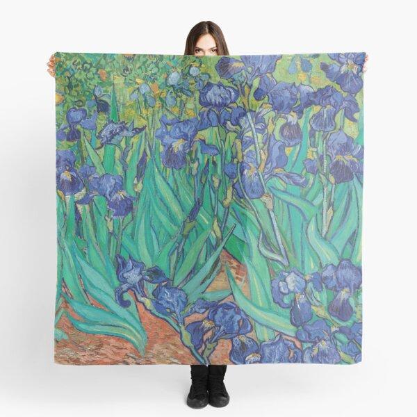 Irises by Vincent Van Gogh Scarf