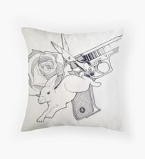 Hop Bang! Throw Pillow
