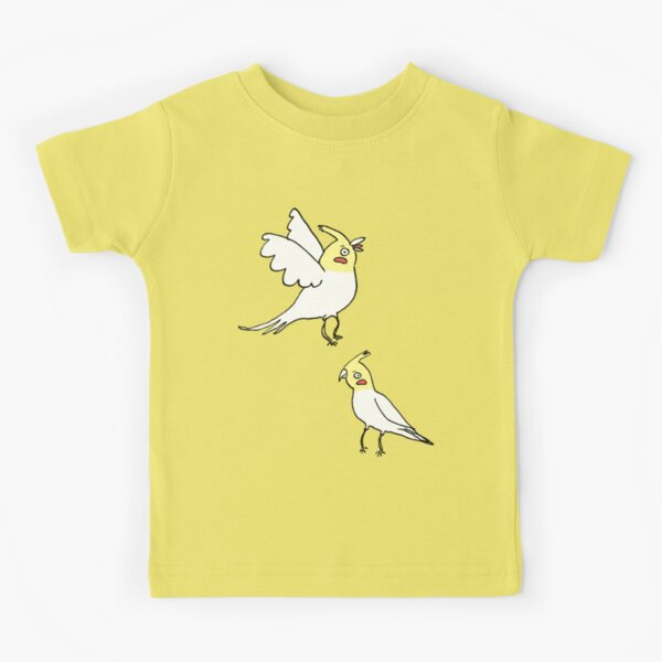 Cockatiels Kids T-Shirt
