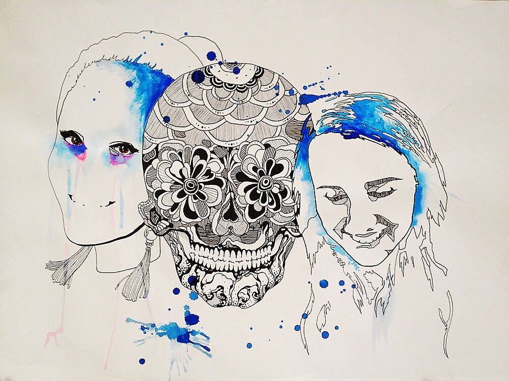 Inner face by CAJonesArtwork