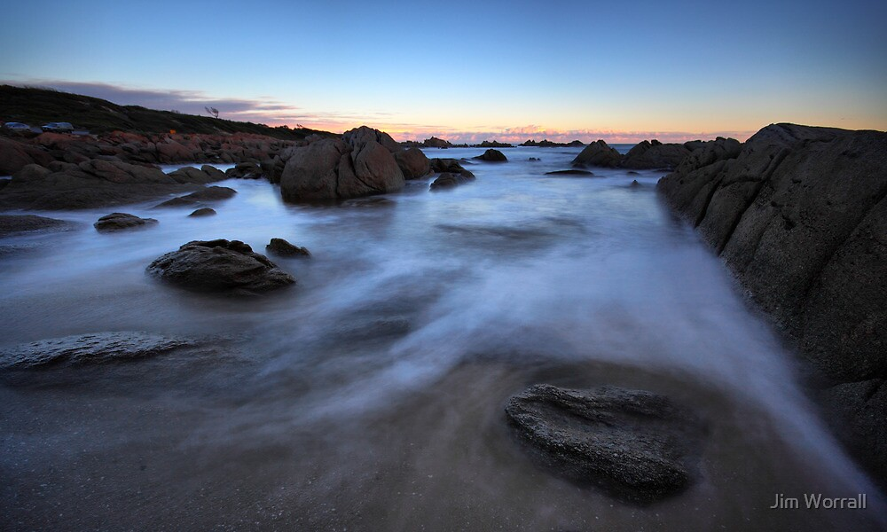 Mists of Cape Conran by Jim Worrall