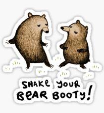 Bear Booty Dance Sticker