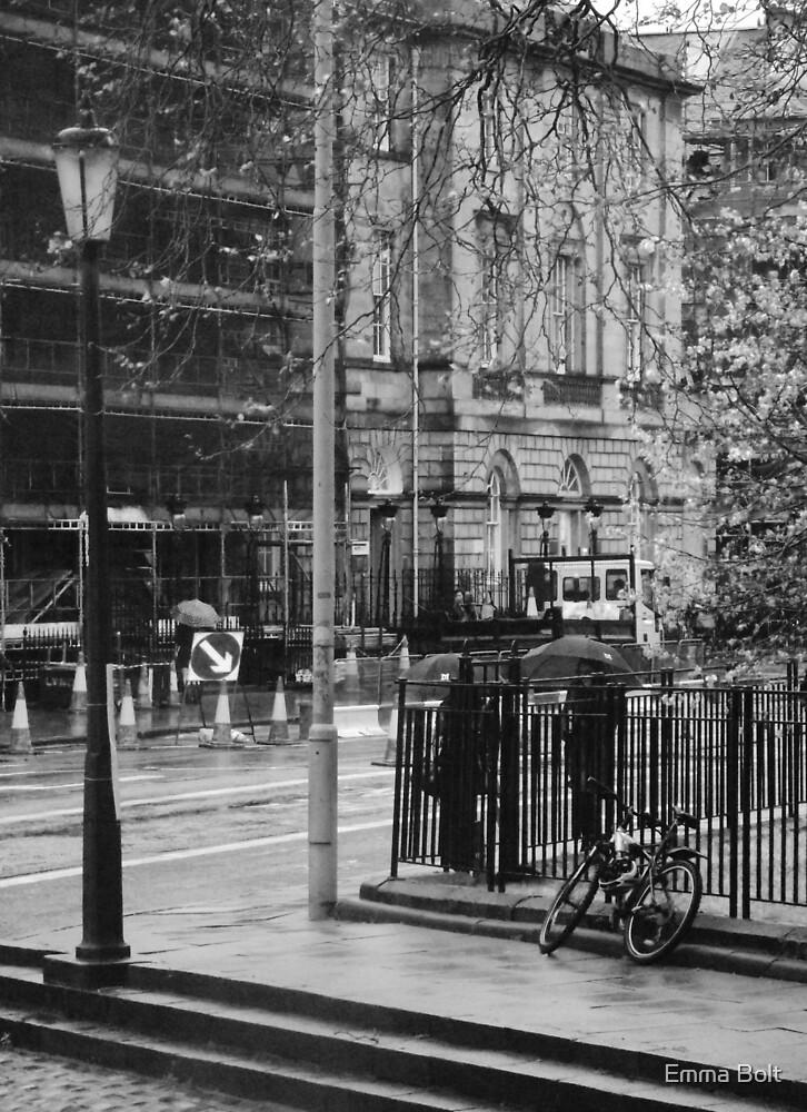 A Street Corner in Edinburgh by Emma Bolt