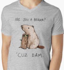 Dam Men's V-Neck T-Shirt