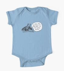 Fledermäuse sind nicht böse Baby Body Kurzarm