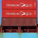 Hamburg Sud on the Yarra  by Mark Higgins