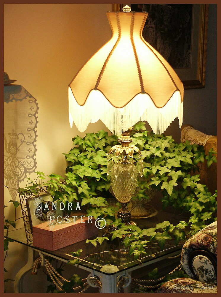 Lamp Scene by Sandra Foster