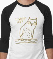 Confused Owl Men's Baseball ¾ T-Shirt