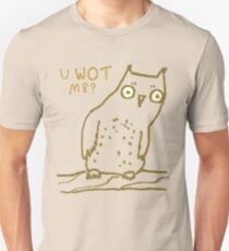 Confused Owl Unisex T-Shirt