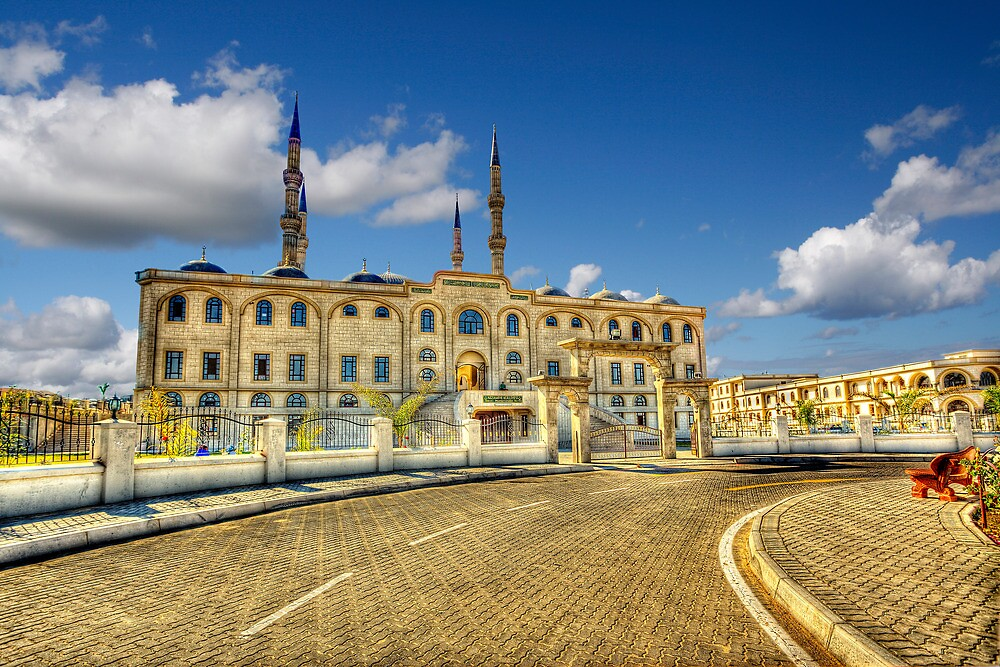 Nizamiye Turkish Masjid Midrand (3)  by JandeBeer