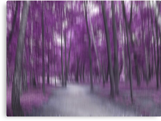 Forrest in Motion, Moscow (purple) by KUJO-Photo