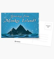 Greetings from Monkey Island Postcards