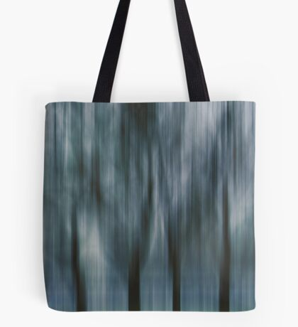 Four Trees, Budapest (blue & green) Tote Bag