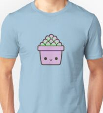 Succulent in cute pot Unisex T-Shirt