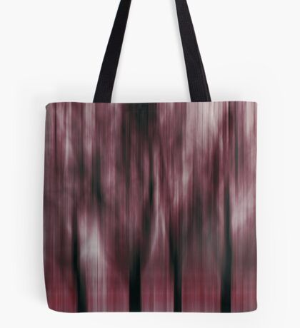 Four Trees, Budapest (ruby & green)  Tote Bag