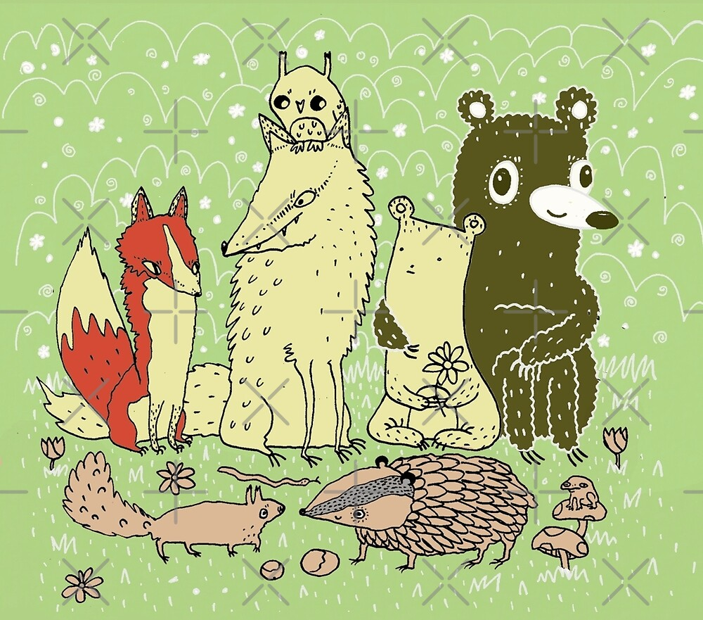 Bramble Wood Gang by Sophie Corrigan