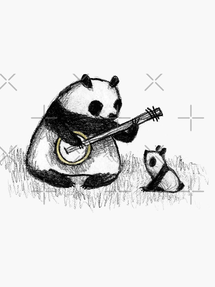 Banjo Panda by SophieCorrigan