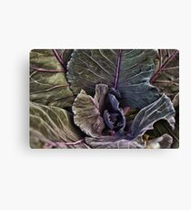 Here comes the Salad Canvas Print