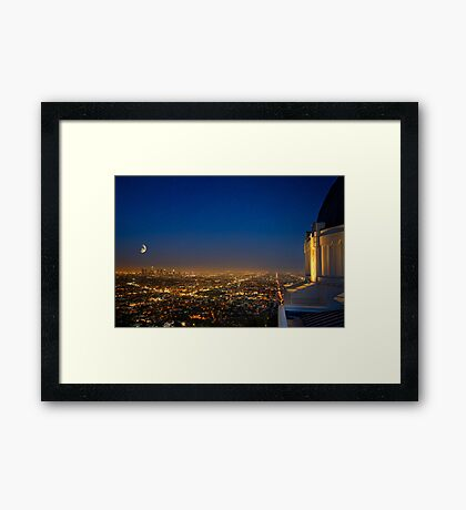 Griffith Observatory Framed Print