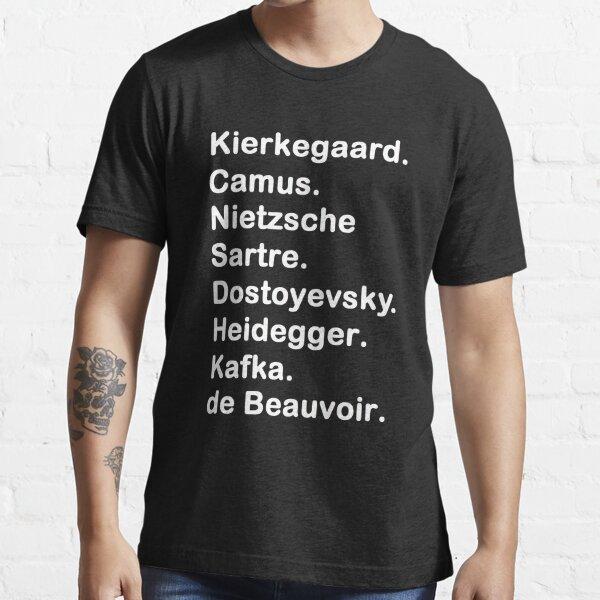 Existencialista 2 Camiseta esencial