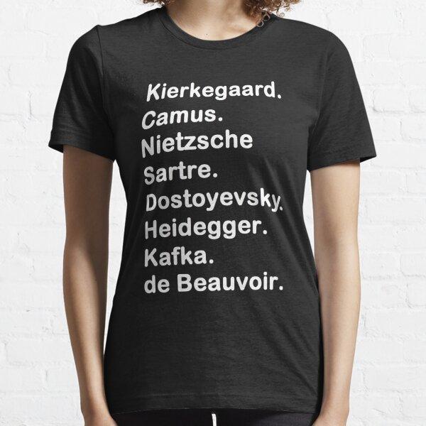 Existentialiste 2 T-shirt essentiel