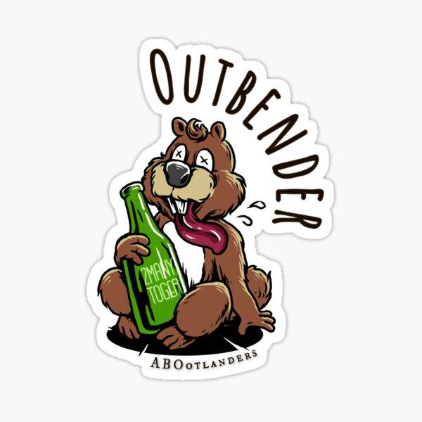 Outbender Sticker