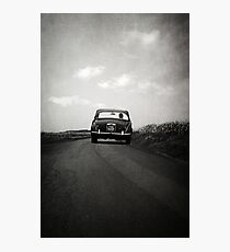 How to disappear completely Photographic Print