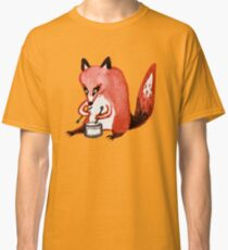 Drumming Fox Classic T-Shirt