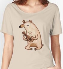 Ukulele Bear Women's Relaxed Fit T-Shirt