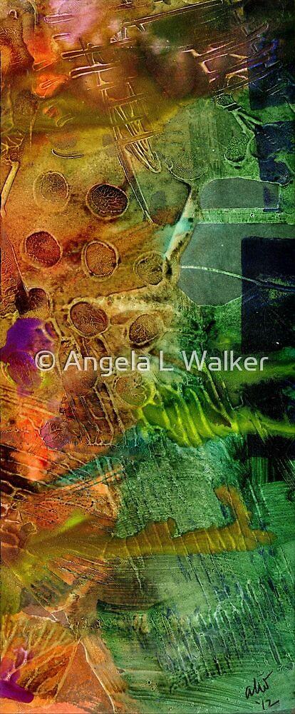Summer Triptych II by © Angela L Walker