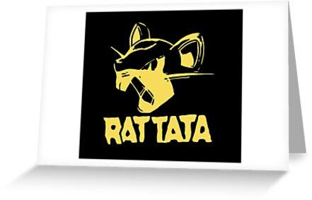 RAT TATA - RATATAT Music Band Mashup by MagicRoundabout