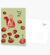 Nuts For You Postcards