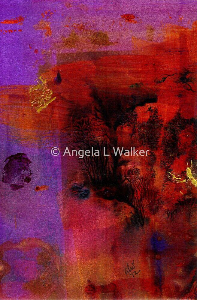 Purple Rain I by © Angela L Walker