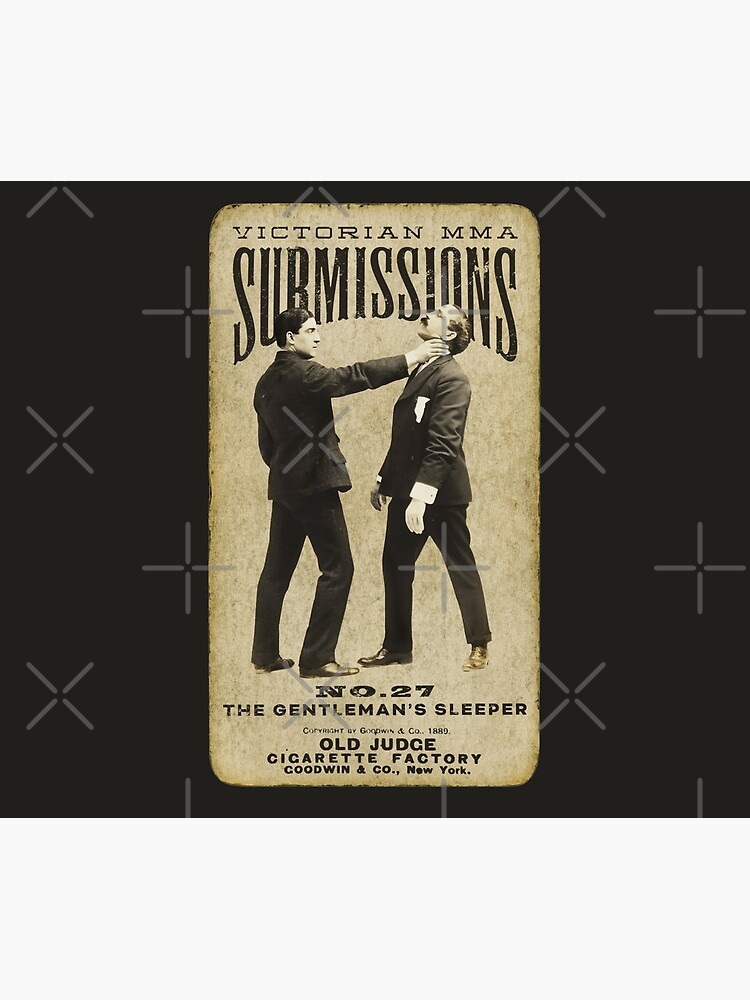 Victorian MMA Submissions –No.27 The Gentleman's Sleeper  – by Jummle