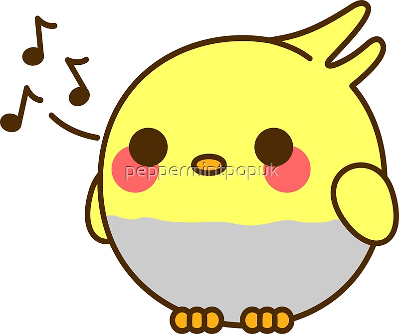 Quot Kawaii Bird Quot Stickers By Peppermintpopuk Redbubble